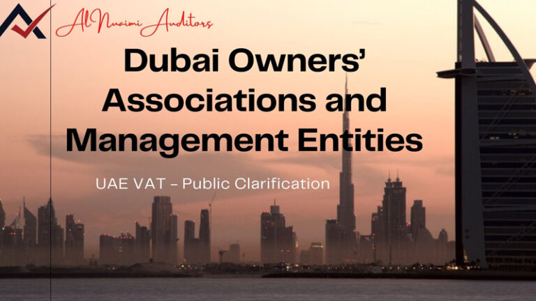 Dubai Owners Associations and Management Entities