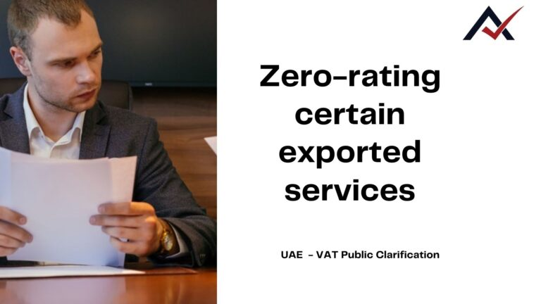 Zero-rating-certain-exported-services