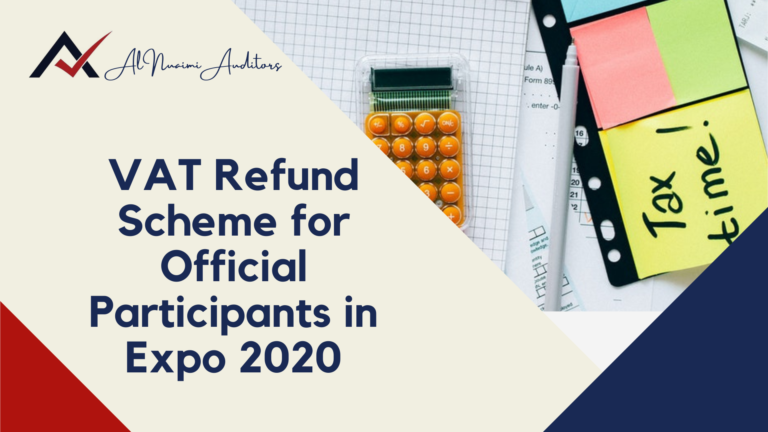 VAT Refund Scheme for Official Participants in Expo 2020